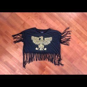 FREEZE GOLD EAGLE TOP